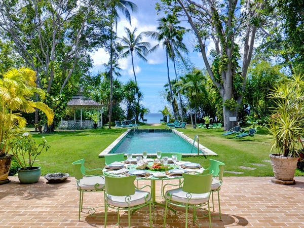 The gardens at Nelson gay holiday rental in Barbados