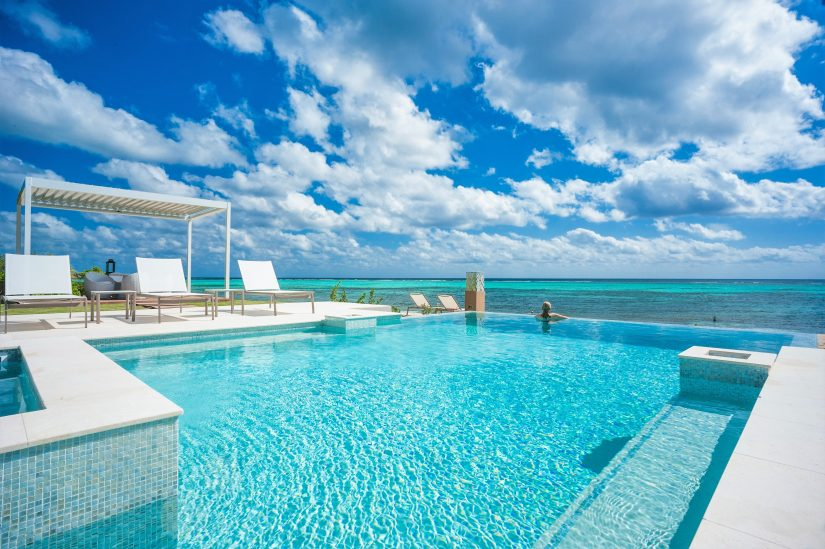 Infinity pool at Grand Cayman