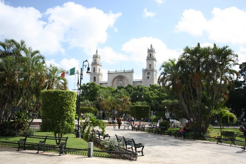 Visit the quieter town of Merida, one of the Best things to do in Cancun