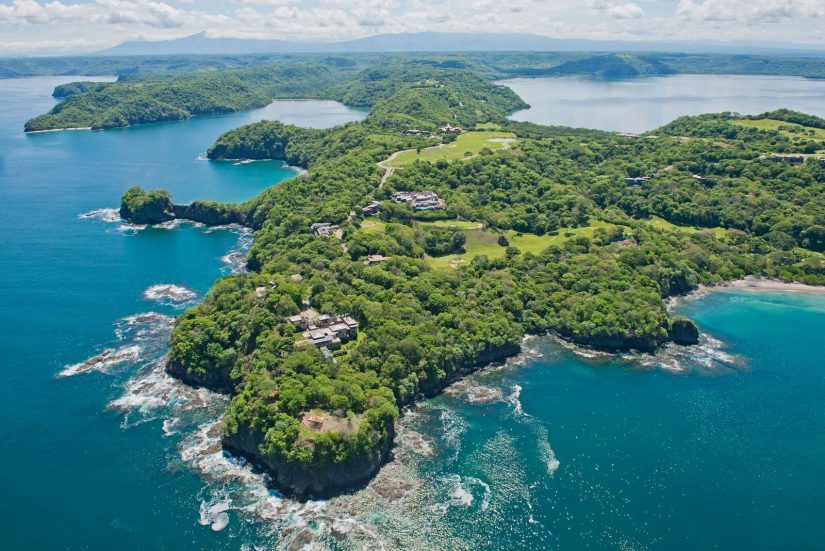 The lush, tropical opulence of Papagayo Pininsula