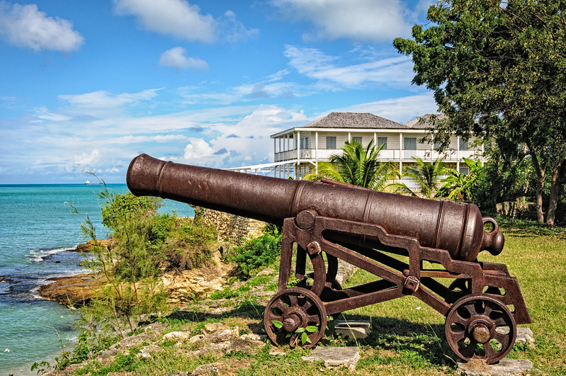 An exciting Antigua things to do is visit the forgotten and dated site of St James Fort.