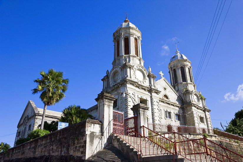 Things to do in st john's Antigua include the incredible site of St Johns Cathedral, a picture perfect moment