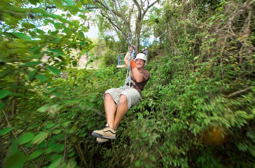 A trip to Antigua Rainforest Zipline Tours is one of the best Antigua things to do