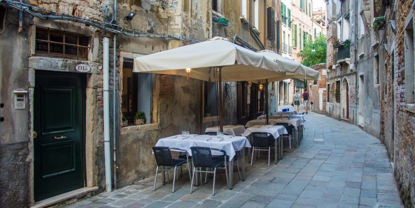 For some of the best local restaurants in Venice Italy with traditional food, then visit Antiche Carampane