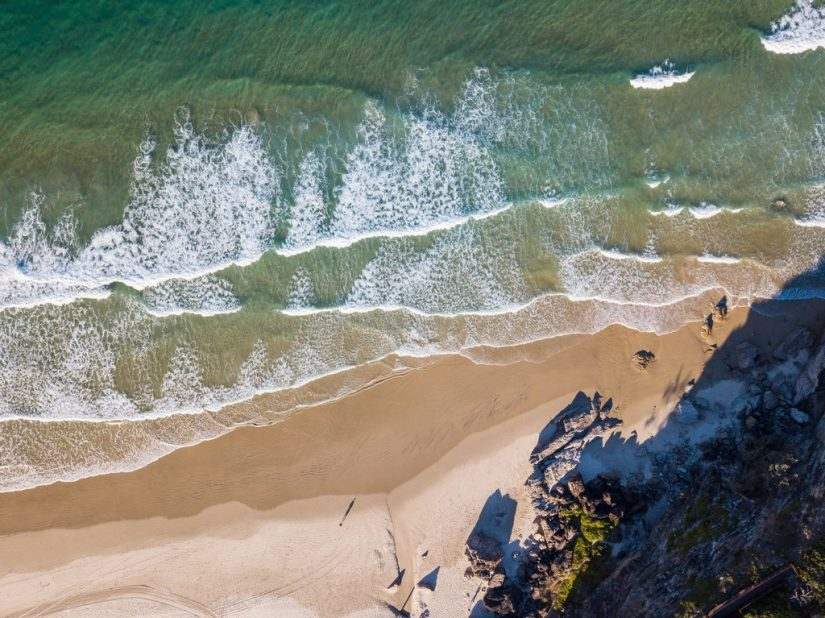 This serene and peaceful french beach offers you a laid back ambiance to unwind and relax.