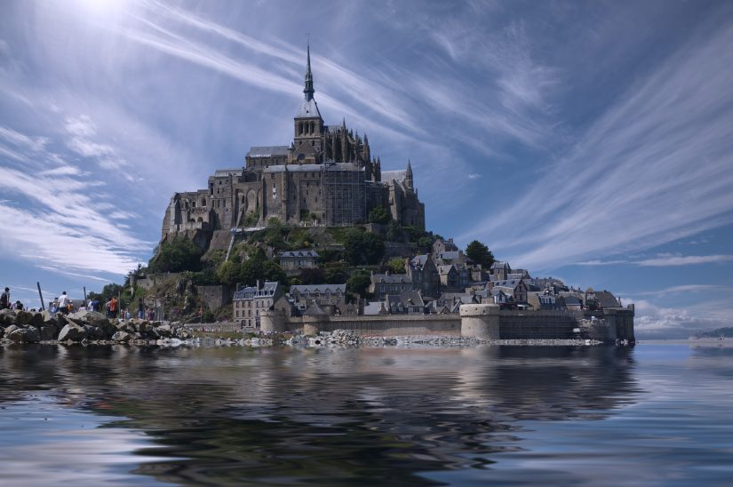 Rich in history and captivating architecture, Mont St Michel is based on one of the beaches near Paris