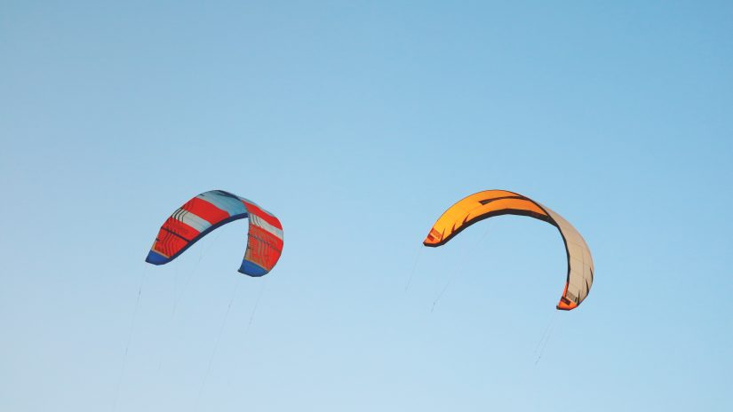 Kite beach is one of the best beaches in Dominican republic, splashed with colorful Kites!