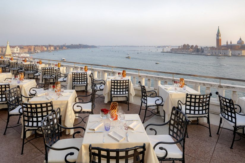 Terrazza Danieli is one of the best seafood restaurants in Venice Italy