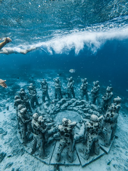 One of the best vacation spots in mexico is Cancun for its captivating underwater Museum experience