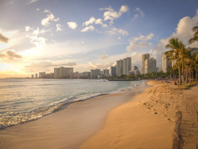 The places to go for spring break include the lavish sandy beaches of Honolulu in Hawaii