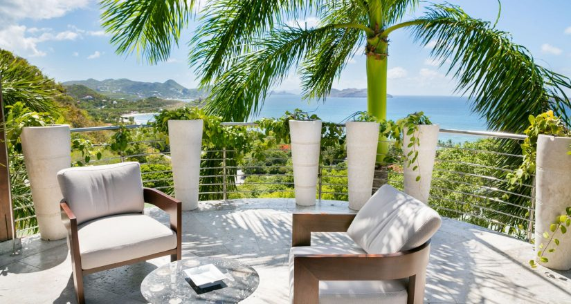 St Barts is one of the best places to visit in December, with endless views and a great tropical climate