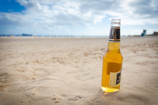 Drinks are an important beach essential too