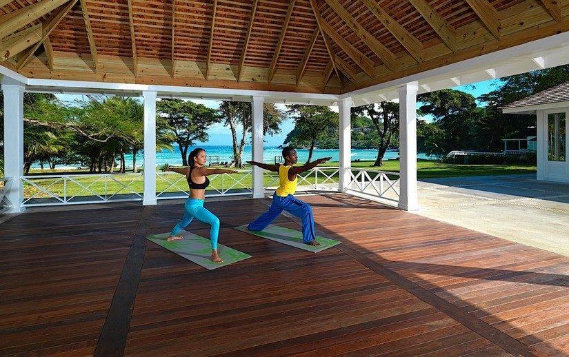 Yoga Round Hill Resort Jamaica
