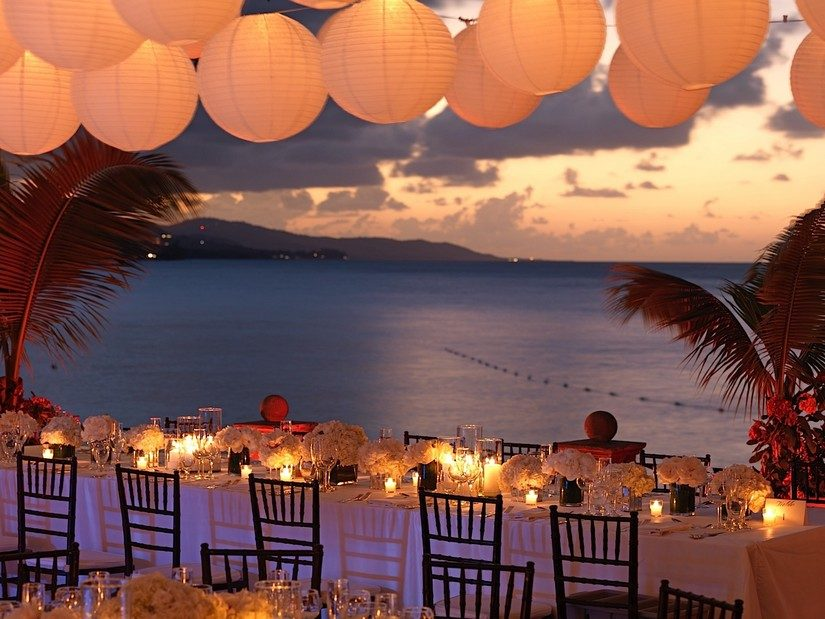 dining at round hill resort jamaica