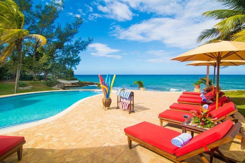 pool and view at Karma Bay at Tryall Resort Jamaica