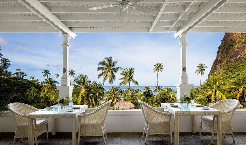 The Terrace at Sugar Beach St Lucia Resort