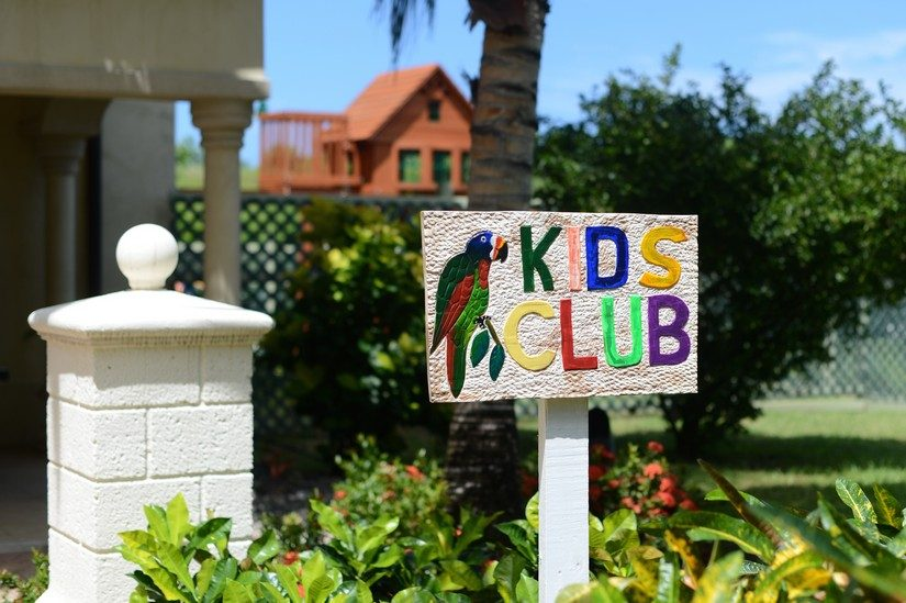 kids club at the landings resort in st lucia