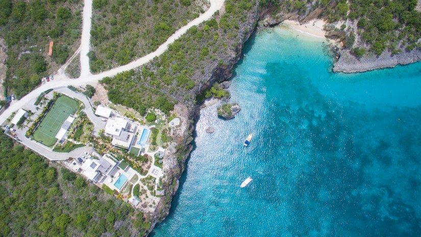 Ani Villas Resort in Anguilla at Little Bay Beach in Anguilla