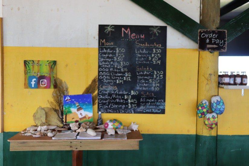 palm grove restaurant in anguilla