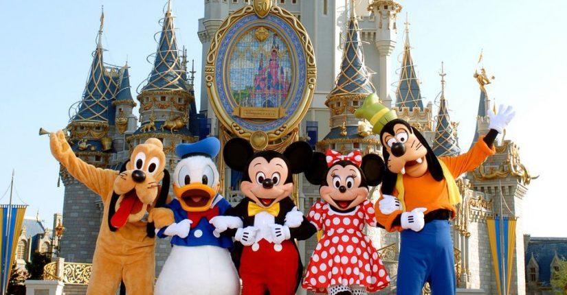 Disney Characters at Orlando resorts