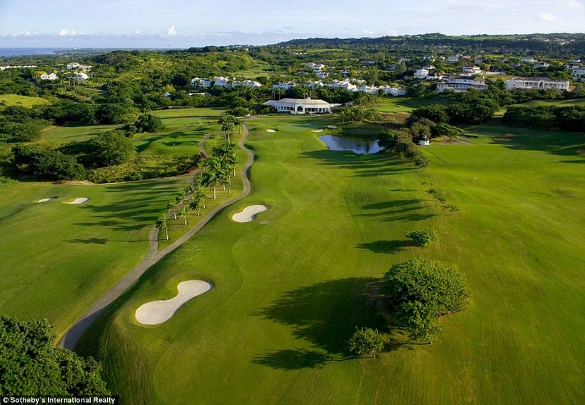 Aerial View of Royal Westmoreland in Barbados - one ofthe best family vacation spots in caribbean