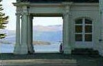 The porch overlooking the Lakes of Killarney at the Killarney Lakeside Mansion.  Irish Vacations at their best.