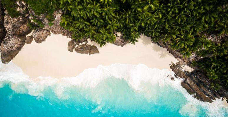 Fregate Island - Aerial View