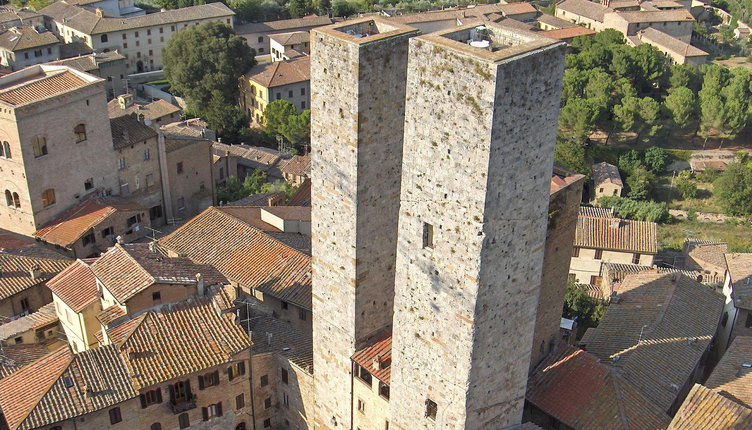 italy villas torre di san gimignano tuscany - Rent Italian Villa