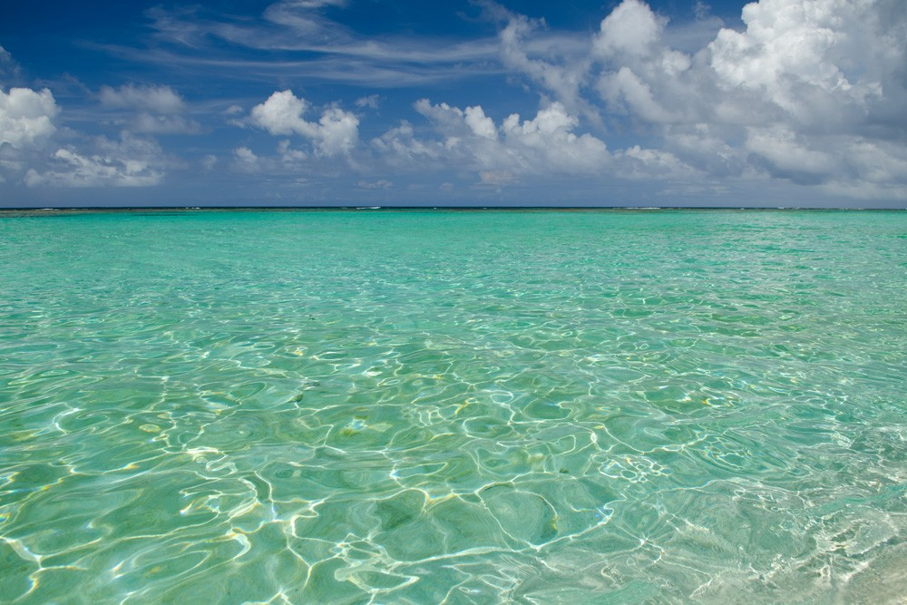 The Calm Turquoise Waters of the British Virgin Islands