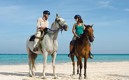 Horse Riding at the Cap Cana luxury resort