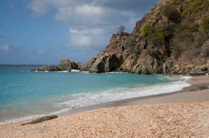 Shell Beach in St Barths