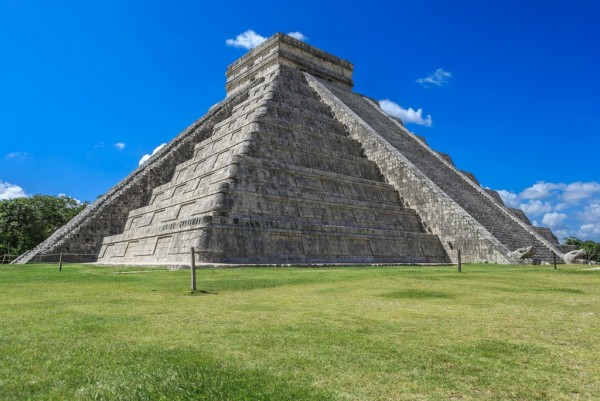 Chichen Itza. One of the Seven Wonders of the World