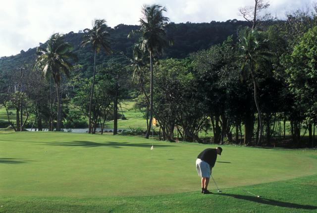 Antigua has many fine golf clubs