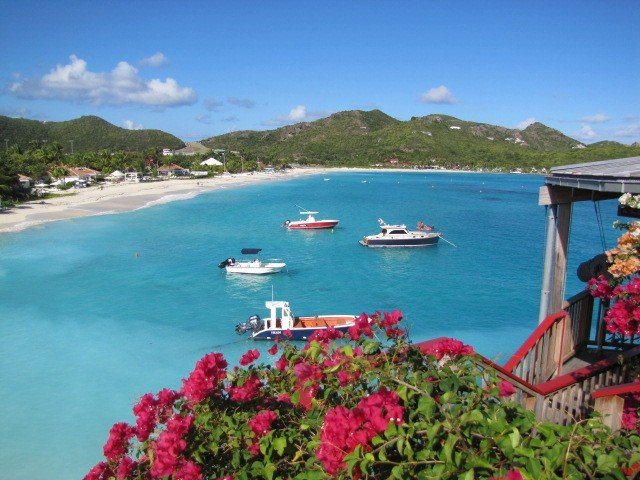 St Barths has some of the World's most beautiful beaches and St Jean is one of them