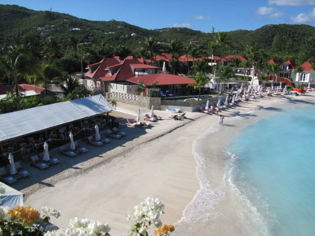 The renowned Sand Bar restaurant overseen by world famous chef Jean-George