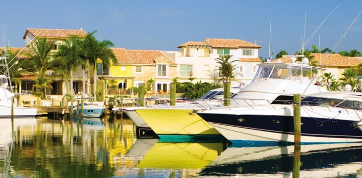 The Marina at Casa de Campo is a beautiful place to visit