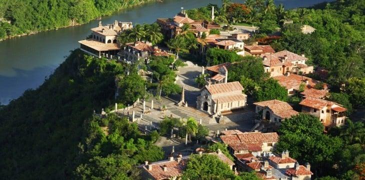 Altos de Chavon = picturesque village in the hills of Casa de Campo