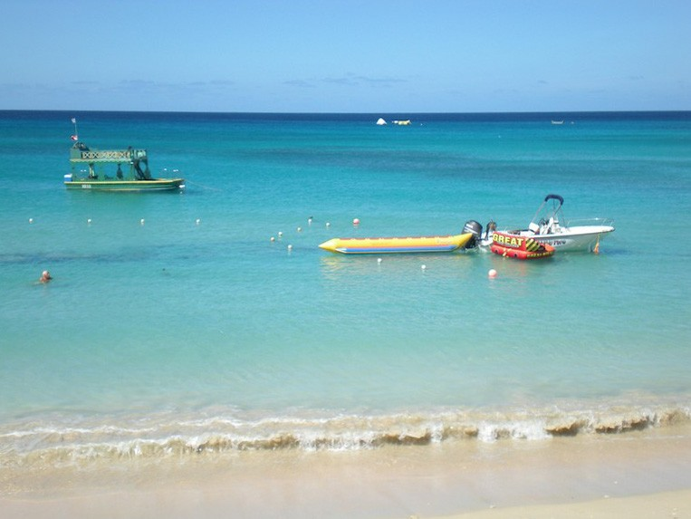 Water Sports at Mullins Bay Beach