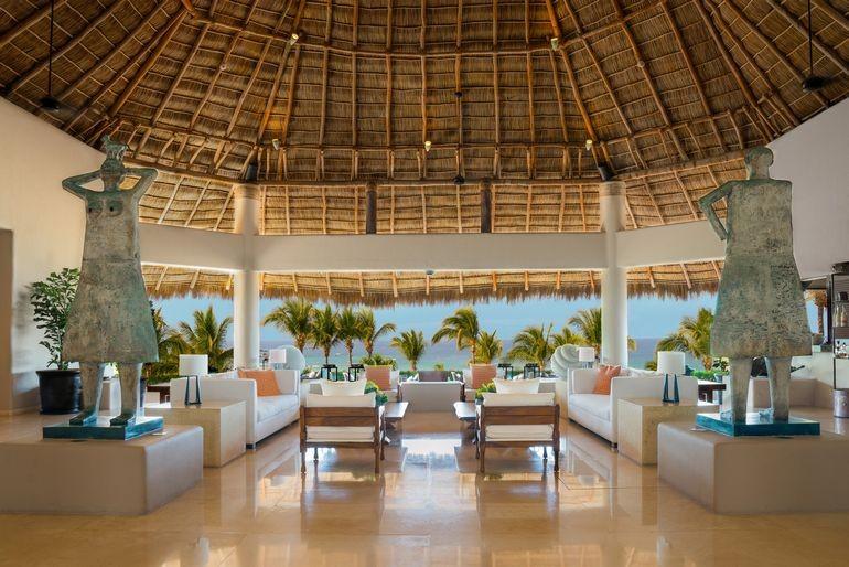 Punta Mita Lounge Area