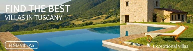 Find the best villas in Tuscany