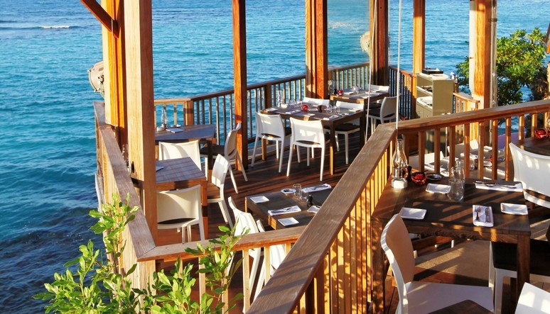 On The Rocks Restaurant in St Barths: Dine in style in the Caribbean
