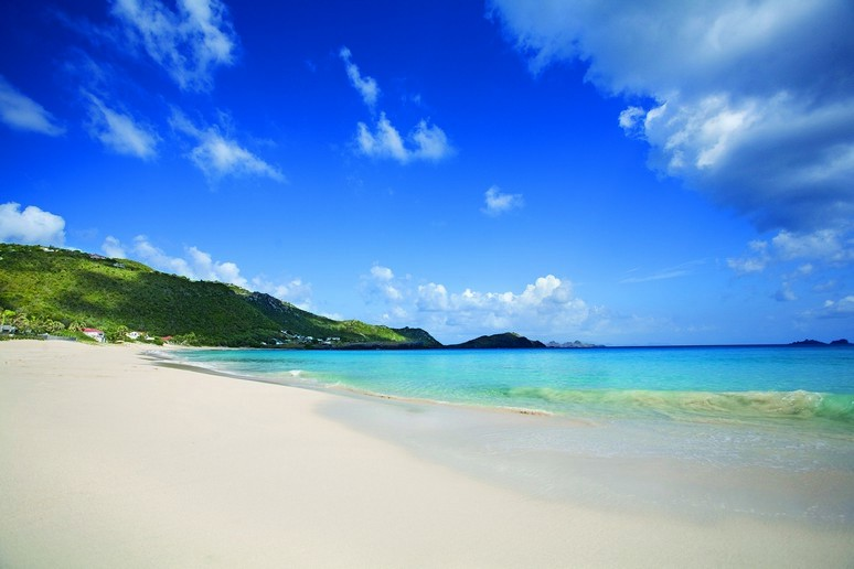 Flamands beach, St Barths