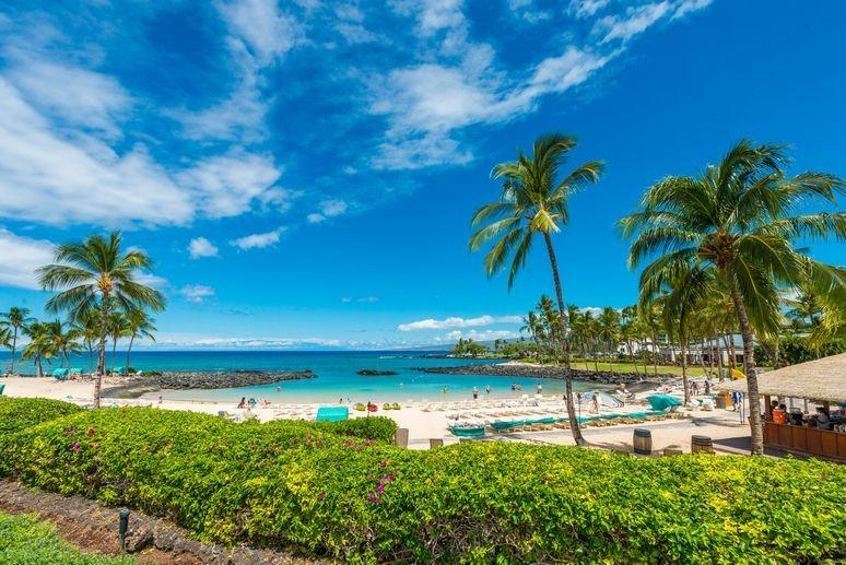 Mauna Lani Resort Beach View