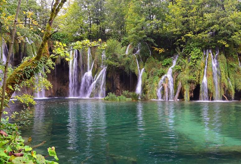 Waterfalls at Plitvice