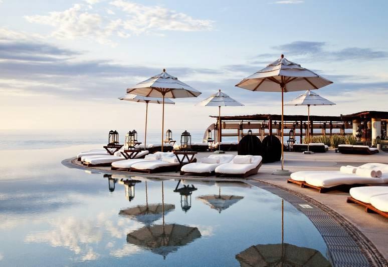 Pool area at Cabo Villas
