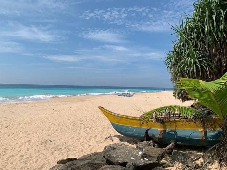 On of the best things to do in Sri Lanka is to explore he stunning beaches - like this one