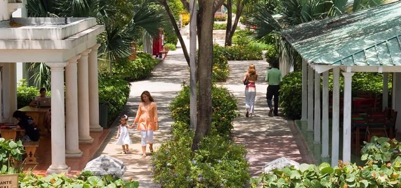 Families enjoy the peace at Puntacana Village