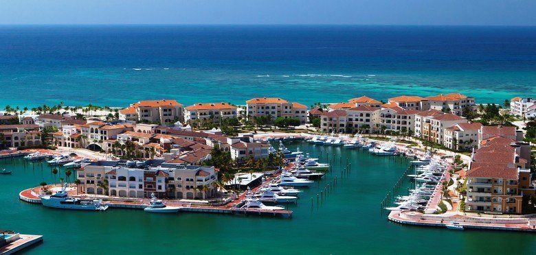 Activities at Cap Cana - View of the Marina