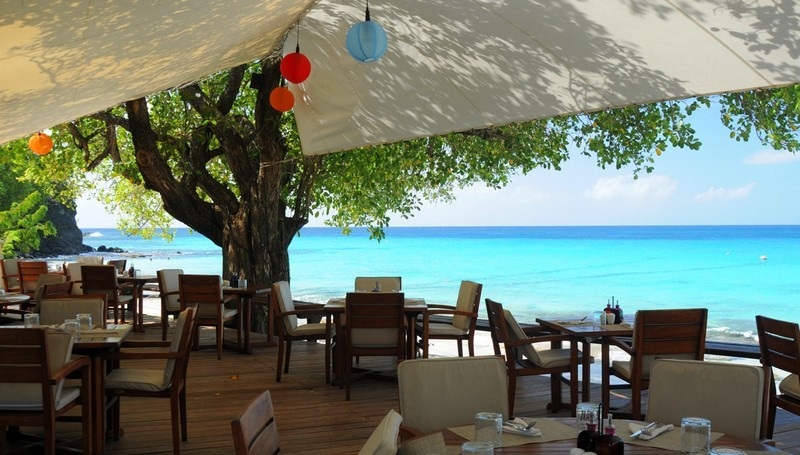 The Cotton House Restaurant in Mustique