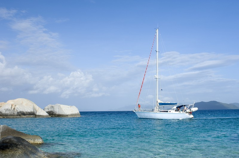 Virgin Gorda is a popular destination for yachters